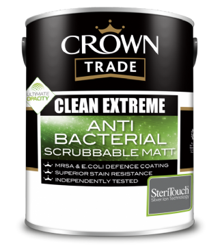 Clean Extreme Anti-Bacterial Scrubbable Matt